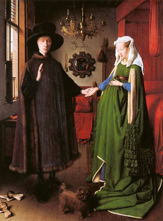 Jan van Eyck - Arnolfini Portrait (1434)