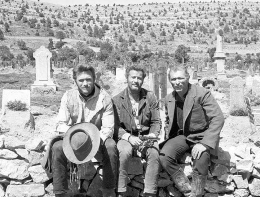 Clint Eastwood, Eli Wallach, Lee Van Cleef